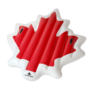 Canadian Maple Leaf Pool Floatie Pool Floatie Kakabeka Depot Express