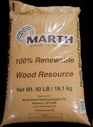 Marth Premium Hard Wood Pellets 40lb Wood Pellets BioPower