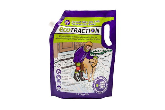 Ecotraction Non-Corrosive Pet Friendly Volcanic Mineral Road Salt KB Depot Express