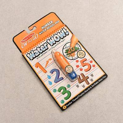 Water Wow! Number Water Reveal Pad Melissa and Doug