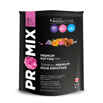 Pro-Mix Premium Potting Mix 1Kg 5L Lawn and Garden Premier Tech