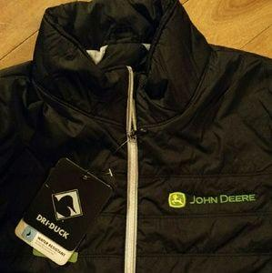 John Deere Women's Quilted Jacket Jacket John Deere Clothing