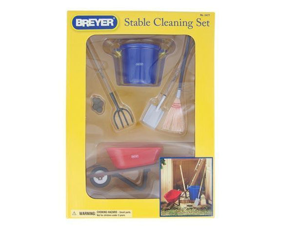 Stable Cleaning Set Toy Breyer