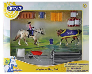 Western Play Set Toy Breyer