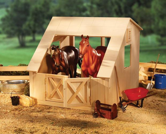 Wood Stable Toy Breyer