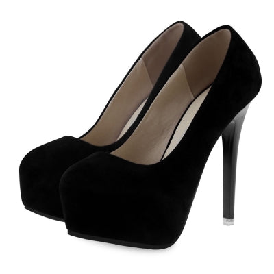 Sexy Solid Color Ladies Thin High Heel Shoes