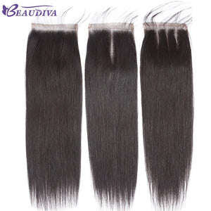 Straight Hair Bundles With Closure Swiss Lace With Baby Hair Brazilian Hair Weave Bundles Human Hair Bundles With Closure