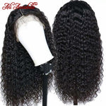 Lace Front Human Hair kinky curly Wigs With Baby Hair Brazilian Curly Human Hair Wig 13*6 Human Hair Wigs Natural colour