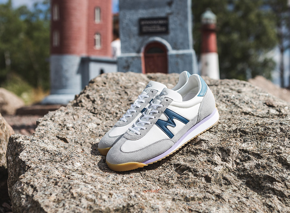 Karhu ChampionAir Gray Violet / Blue Wing Teal