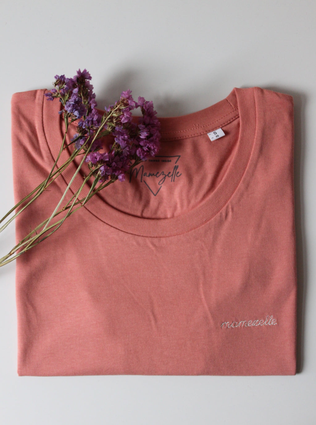 Mamezelle T-shirt Soft Peach
