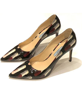 PRADA PUMPS, 38.5