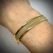 Load image into Gallery viewer, JENNY BIRD GOLD CHAIN CUFF BRACELET, NWT