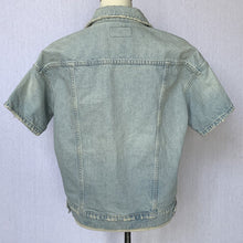 Load image into Gallery viewer, CURRENT/ELLIOTT HAND EMBROIDERED DENIM JACKET, SZ 1