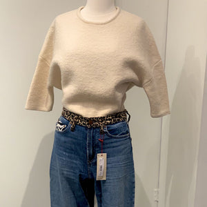 STELLA MCCARTNEY WOOL SWEATER, MSRP $795, SZ 38