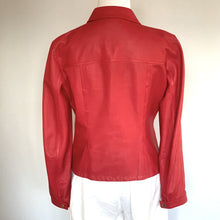 Load image into Gallery viewer, FRATELLI ROSETTI LEATHER JACKET, SZ 40