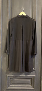 DO + BE MIDI SHIRT DRESS, SZ S