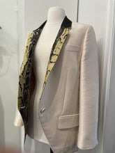 Load image into Gallery viewer, Stella McCartney Tux Jacket w/Python Lapel, SZ 42