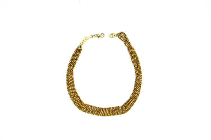 CLEOPATRA GOLD LAYERED ANKLET