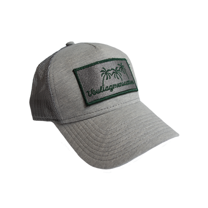 embroidered patch Vouliagmeni trucker cap