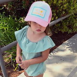 hello sunshine | toddler trucker hat