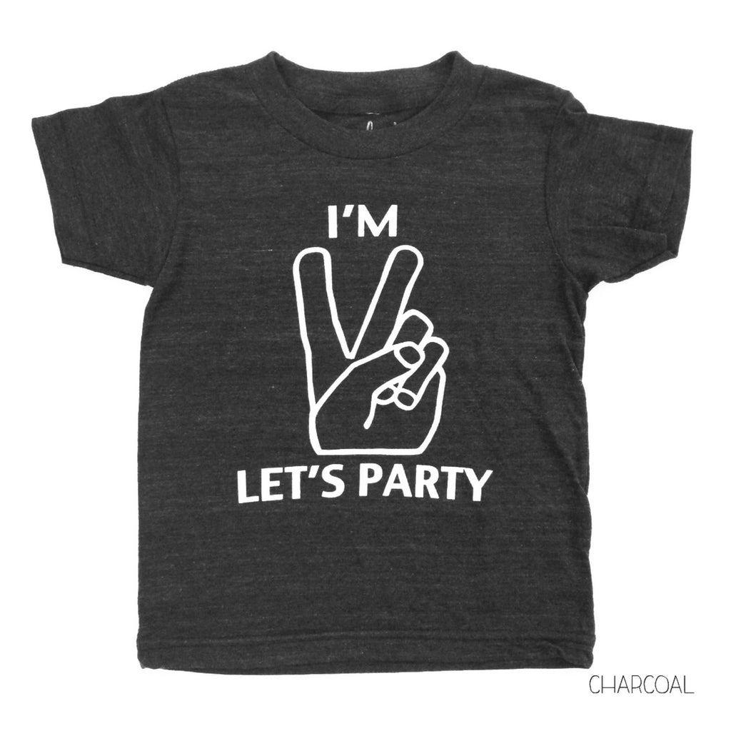I'm two- Let's Party!