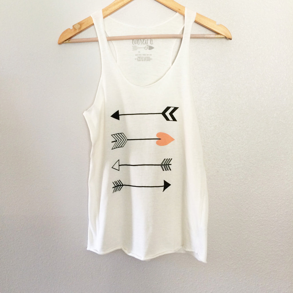 love arrow tank