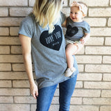 Love you more | high low tee