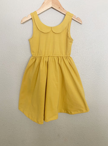 criss cross jumpsuit | mustard