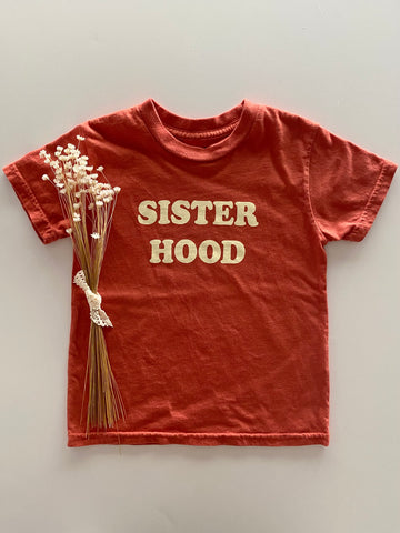 sisterhood tee | earthy mustard