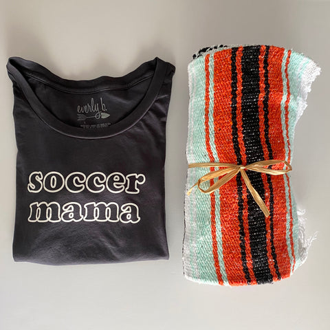 soccer mama embroidered sweatshirt | navy