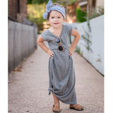 t-shirt maxi dress | child