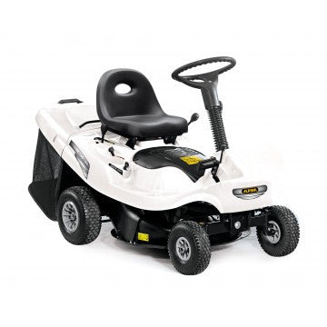 Alpina 63vdb Compact Rear Catcher Ride On Mower Briggs And