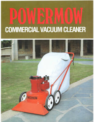 POWERMOW COMMERCIAL VACUUM