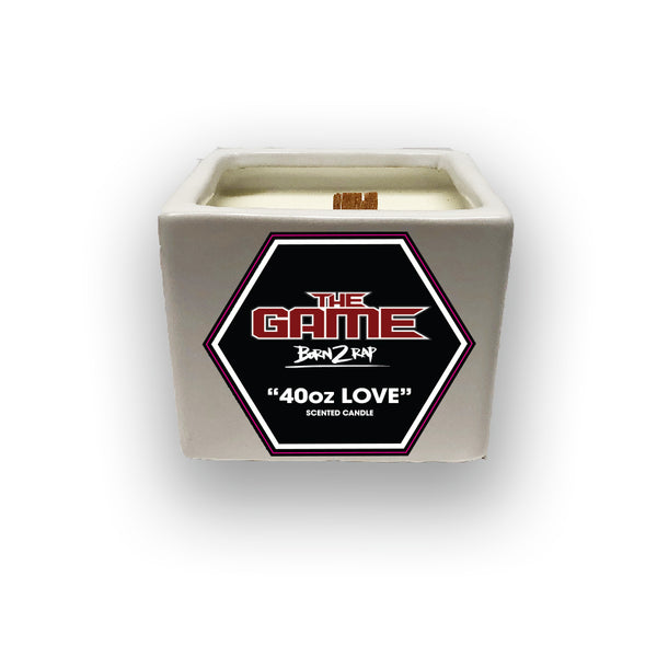 "Born 2 Rap ""40oz Love"" Candle"