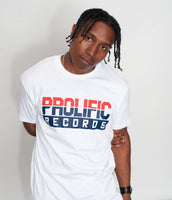 Prolific Records Shirt (White)