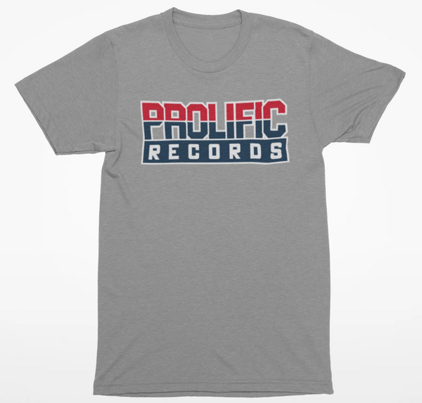 Prolific Records Shirt (Grey)