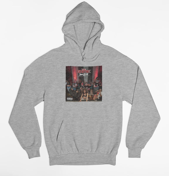 Born 2 Rap - Album Cover Hoodie (Grey)
