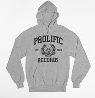 Prolific Records College Block Lettering Hoodie (Grey)