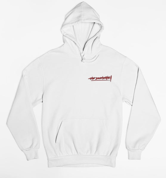 The Documentary - Harlem Hoodie FRONT & BACK (White)