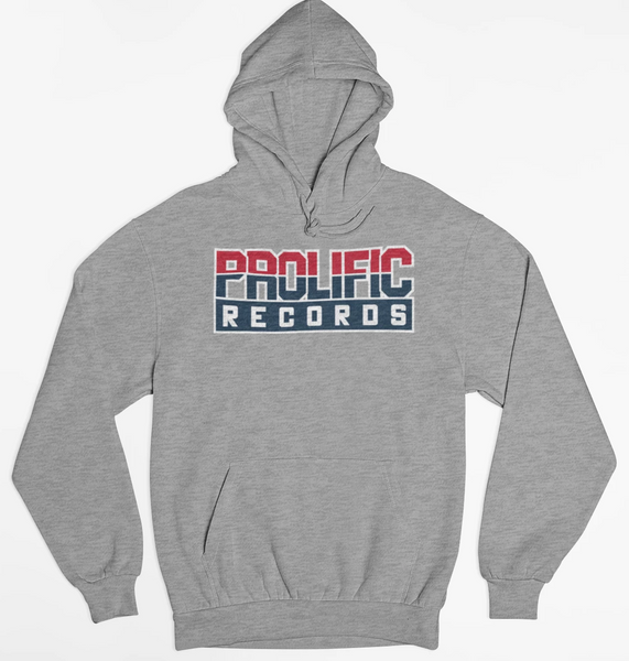Prolific Records Hoodie (Grey)