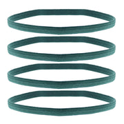 4 on a Card Metal Free Head Elastics