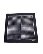 Small Polka Dot Bandana with Border