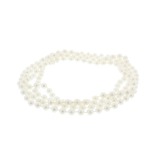 Pearl 72 Inch Bead Necklaces