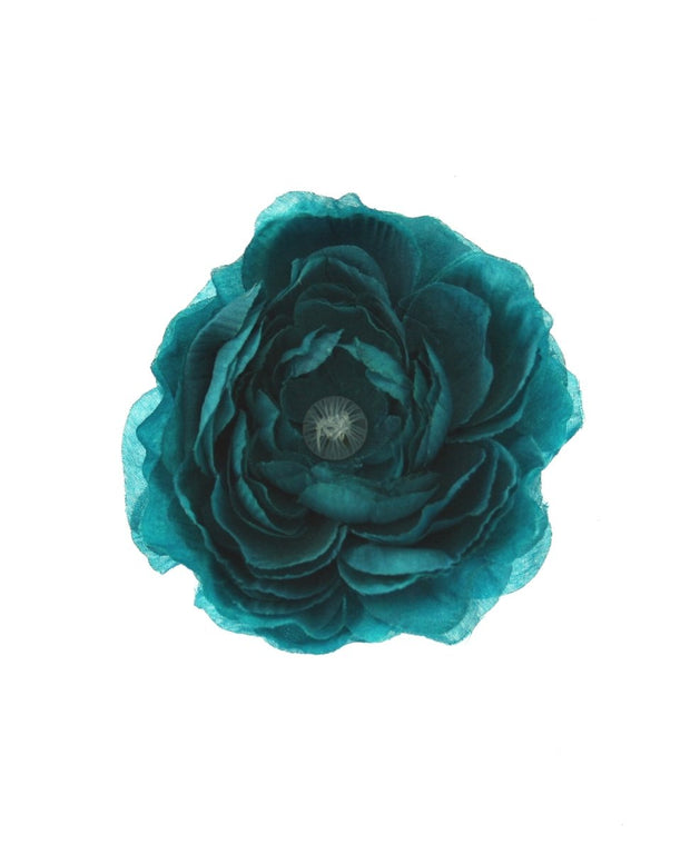 Peonies on Concord Clip & Brooch Pin