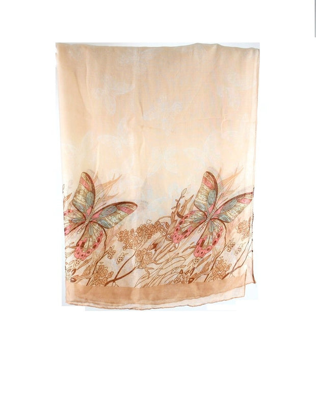 Butterfly Print Scarves
