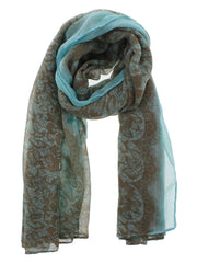 Lace Print Scarf