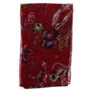 Assorted Animals, Birds & Sealife Print Scarf