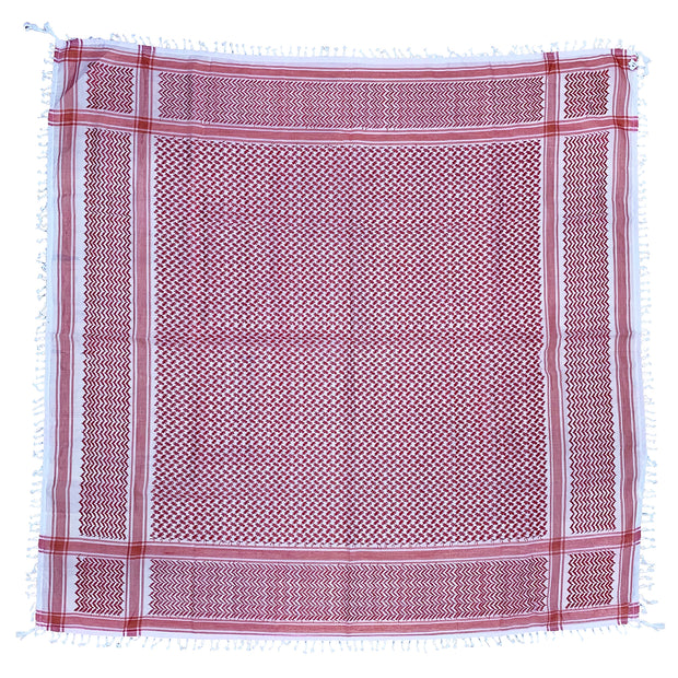 Red Arafat Square Scarf
