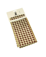 Dogtooth Print Sash (3 in 1)