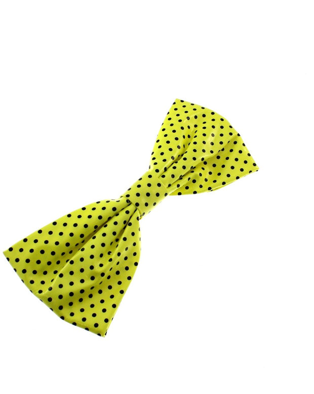 Very Large Polka Dot Bow on Barrette
